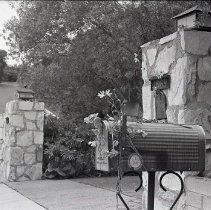 Image of Flowers on Reagan Mailbox, 1969 - 1969/05/31