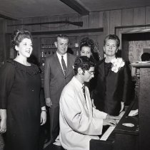 Image of Young Man Playing the Piano - 1969/08/14