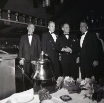 Image of Navy League Event at the Lobster House, 1969 - 1969/04/26