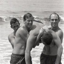 Image of New Zealand Lifeguards in Santa Monica, 1969 - 1969/07/11