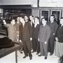 Image of J.J. Newberry's Store Manager Honored, 1940 - 1940/08/25
