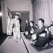 Image of Japanese Musical Performance, circa 1960s - 1960s circa