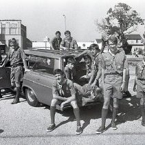 Image of Boy Scouts Assemble for Jamboree, 1969 - 1969/07/24