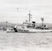 Image of Coast Guard Cutter Barataria in Santa Monica Bay, 1969 - 1969/06/11