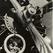 Image of Amelia Earhart with Antenna, 1937 - 1937