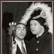 Image of Eddie Cantor and Harry Einstein, circa late 1930s - 1930s late