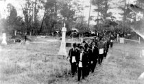 Image of Masonic Funeral Procession