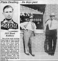 Image of 1933 Bank Robbery