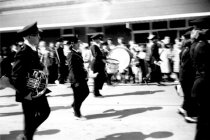 Image of Marching Band in Dogwood Parade, Plain Dealing