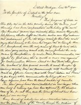 Image of 2001.061.014 - Letter