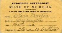 Image of 1951.104.012 - Card, Membership