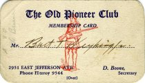 Image of 1964.202.003 - Card, Membership