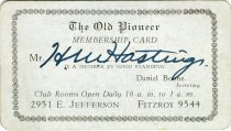 Image of 1964.204.006 - Card, Membership