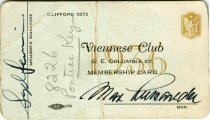 Image of 1964.210.006 - Card, Membership