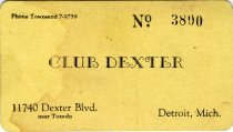 Image of 1964.210.008 - Card, Membership