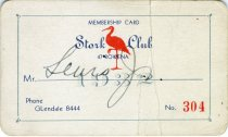 Image of 1964.210.011 - Card, Membership