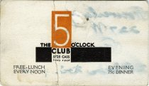 Image of 1964.210.014 - Card, Membership