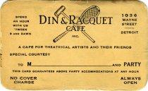 Image of 1964.210.016 - Card, Membership