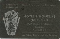 Image of 1964.210.018 - Card, Membership