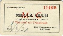 Image of 1964.285.002 - Card, Membership