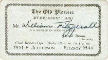 Image of 1964.285.004 - Card, Membership