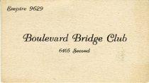 Image of 1964.285.006 - Card, Membership