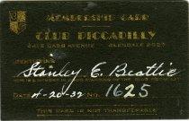 Image of 1964.285.007 - Card, Membership
