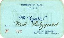 Image of 1964.285.008 - Card, Membership