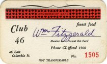 Image of 1964.285.013 - Card, Membership