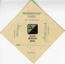 Image of 1954.023.007 - Card, Membership