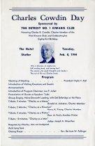 Image of 1965.045.010 - Program