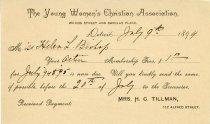 Image of 1951.032.002 - Bill