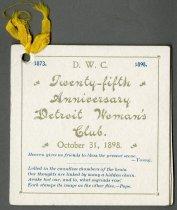 Image of 1951.104.017 - Program