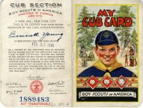 Image of 1960.189.004 - Card, Membership