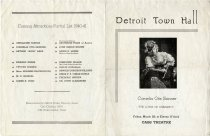 Image of 1988.045.006 - Program, Theater
