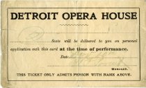 Image of 1957.035.001 - Ticket