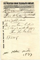 Image of 1947.019.026 - Telegram