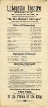 Image of 1954.120.002 - Program, Theater