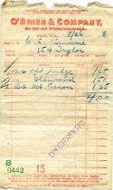 Image of 1954.222.016 - Bill-of-sale