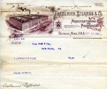 Image of 1955.107.007 - Invoice