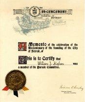 Image of 1957.139.014 - Certificate, Membership