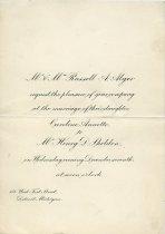 Image of 1965.283.028 - Invitation