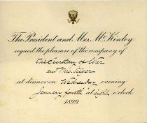 Image of 1966.229.042 - Invitation