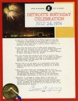 Image of 2013.042.981 - Proclamation