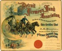 Image of 1944.089.001 - Certificate, Membership