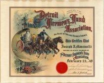 Image of 2013.058.006 - Certificate, Membership