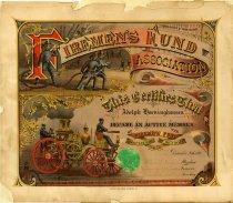 Image of 1955.159.001 - Certificate, Membership