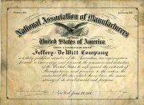 Image of 1991.064.554 - Certificate, Membership