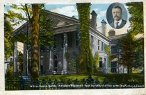 Picture postcard of Wilcox House in Buffalo, New York