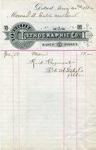 Image of 1947.019.109 - Invoice
